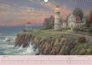 Kinkade, T: Thomas Kinkade: Leuchttürme (Wandkalender 2015 D