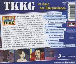 TKKG 182. Im Bann des Übersinnlichen