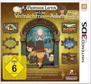 Professor Layton 06 und das Vermächtnis von Aslant. Nintendo 3DS