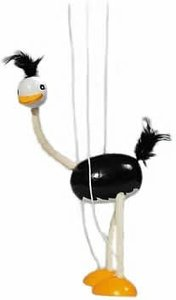 Goki SO140 Strauß, Marionette