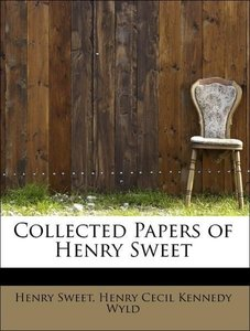 Collected Papers of Henry Sweet