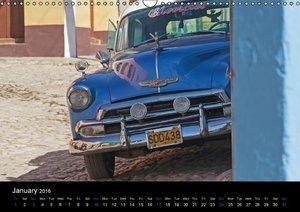 Cuba Highlights (UK-Version) (Wall Calendar 2016 DIN A3 Landscap