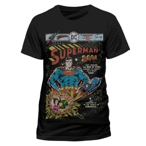 2001 Comic (T-Shirt,Schwarz,Größe S)