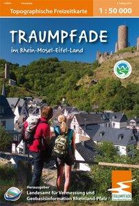 Freizeitkarten Rheinland-Pfalz. Traumpfade im Rhein-Mosel-Eifel-