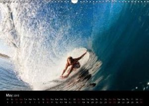 Surfing (Wall Calendar 2015 DIN A3 Landscape)