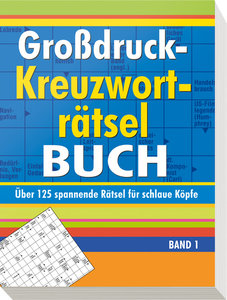 Großdruck-Kreuzworträtselbuch 1