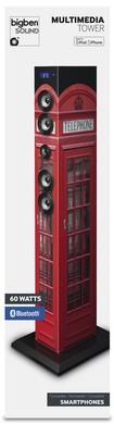 MULTIMEDIA-TOWER, Sound Tower TW1, Turmlautsprecher, phone box ( - zum Schließen ins Bild klicken