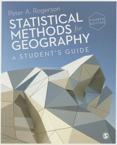 Statistical Methods for Geography