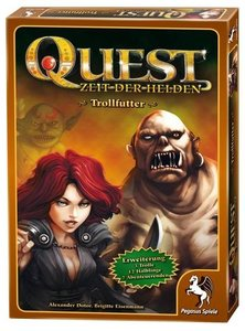 Pegasus Spiele 65016G - Quest: Trollfutter (Erweiterung)