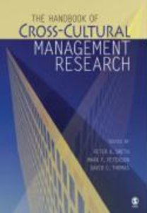 The Handbook of Cross-Cultural Management Research