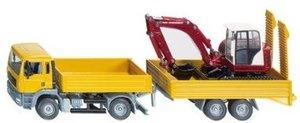 SIKU 3920 - Lkw mit Raupenbagger, farblich sortiert