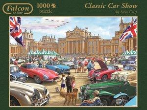 Jumbo Spiele 11112 - Classic Car Show, 1000 Teile