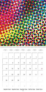 Inspiration - Fonts, design and experimentation (Wall Calendar 2