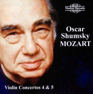 Mozart:Violin Concerts 4+5