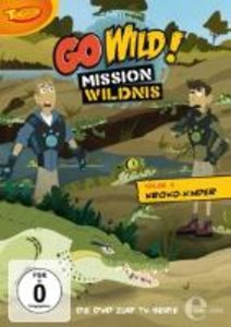 Go Wild! - Mission Wildnis 01. Kroko-Kinder