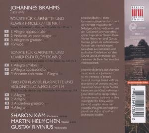 Brahms:Sonatas & Trio