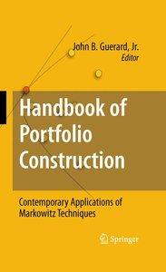 Handbook of Portfolio Construction
