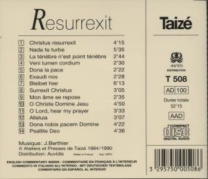 Taize: Resurrexit