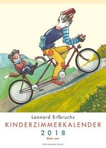 Leonard Erlbruchs Kinderzimmerkalender 2018