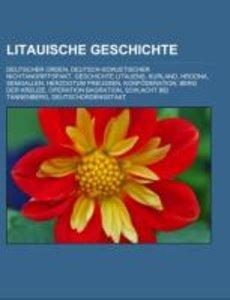 Litauische Geschichte