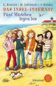 Das Insel-Internat. Fünf Mädchen legen los
