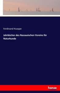 Jahrbücher des Nassauischen Vereins für Naturkunde