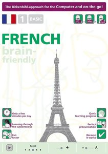 Birkenbihl Sprachen: Brain-friendly French CD-ROM Part 1. Basic.