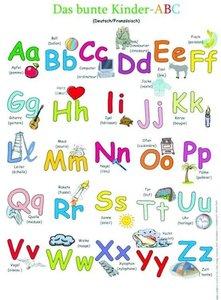 Das bunte Kinder-ABC deutsch/französisch