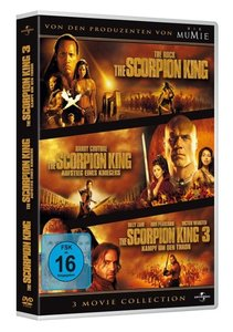 The Scorpion King 1-3 Boxset