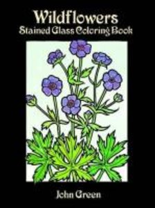 Wildflowers Stained Glass Coloring Book