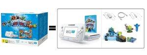 Nintendo Wii U Konsole - Basic Pack Weiß inkl. Skylanders Trap T