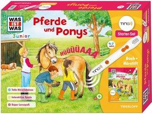 TING Starterset Pferde und Ponys. Buch und Hörstift