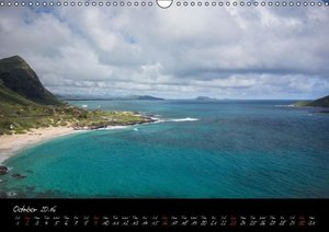 Hawaii / UK-Version (Wall Calendar 2016 DIN A3 Landscape)