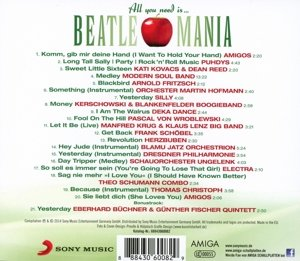 All You Need Is...Beatlemania (A Tribute To The B