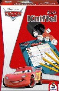 Schmidt Spiele 40522 - Disney Cars: Kniffel Kids