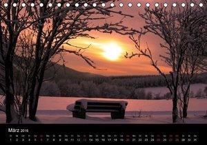 Wintermärchen von Dora Pi (Tischkalender 2016 DIN A5 quer)