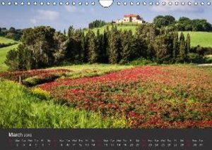 Tuscany - Landscape of the Soul (Wall Calendar 2015 DIN A4 Lands