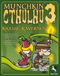 Pegasus Spiele 17188G - Munchkin Cthlulhu 3: Krasse Kavernen