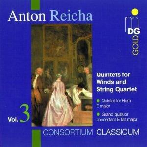 Quintette F.Bläser & Streichquartett Vol.3