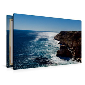 Premium Textil-Leinwand 120 cm x 80 cm quer Kalbarri NP