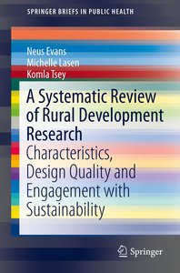 The Characteristics and Quality of Rural Development Research