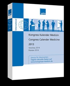 Kongress Kalender Medizin / Congress Calender Medicine 2013