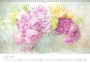 Art meets Flowers (Wall Calendar 2015 DIN A3 Landscape)