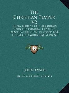 The Christian Temper V2