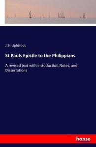St Pauls Epistle to the Philippians