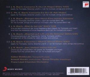 Bach: Werke für Trompete