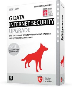 G Data InternetSecurity 2015 Upgrade - Schutz für 1 Jahr/1 PC