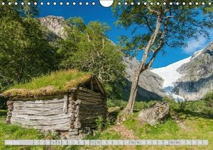 Norway / UK-Version (Wall Calendar 2015 DIN A4 Landscape)