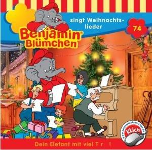 Benjamin Blümchen 074 singt Weihnachtslieder. CD