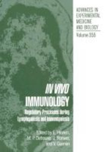 In Vivo Immunology